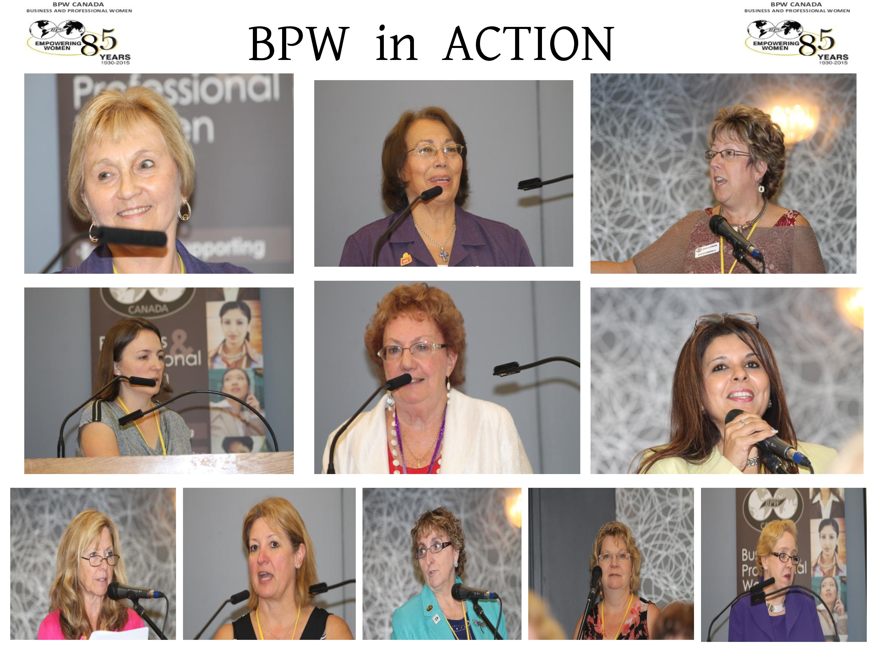 BPW in ACTION
