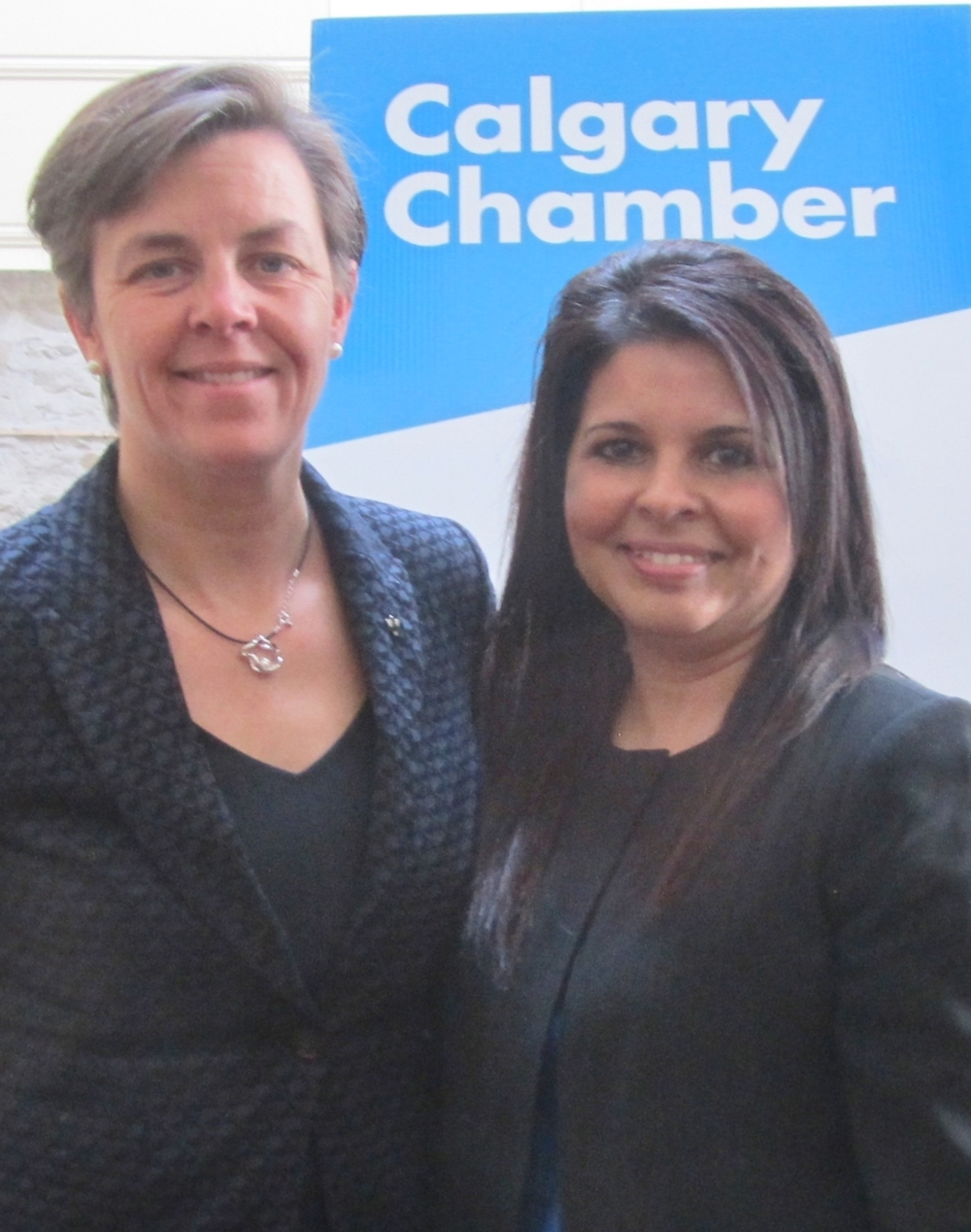 Minister Kellie Leitch and I