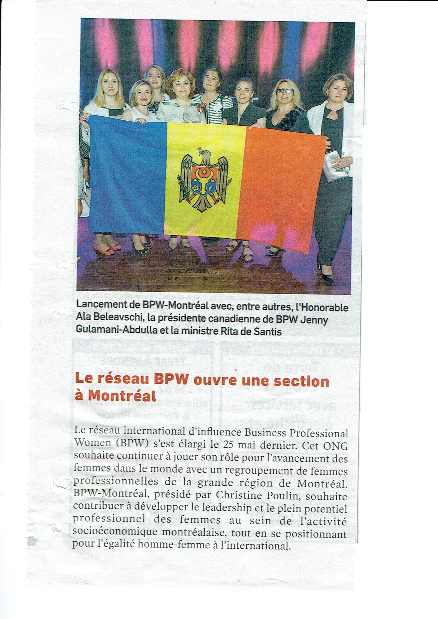 BPW Montreal Article journaldesaffaires20170617 page 0