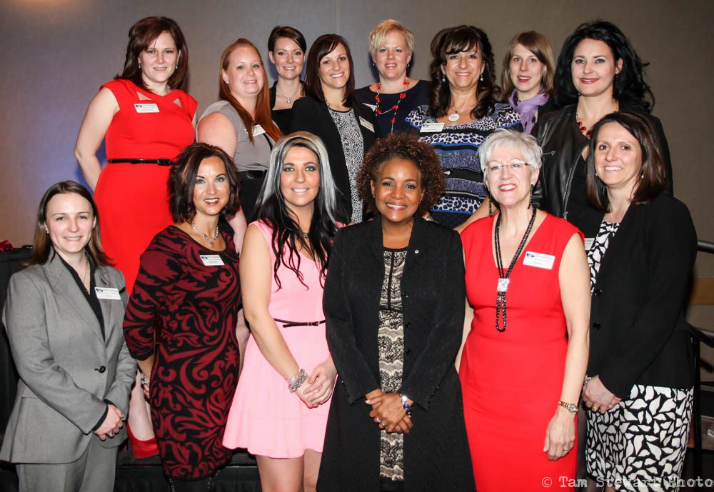 BPW Saskatoon IWD with 27th Governor General of Canada Michaelle Jean 3